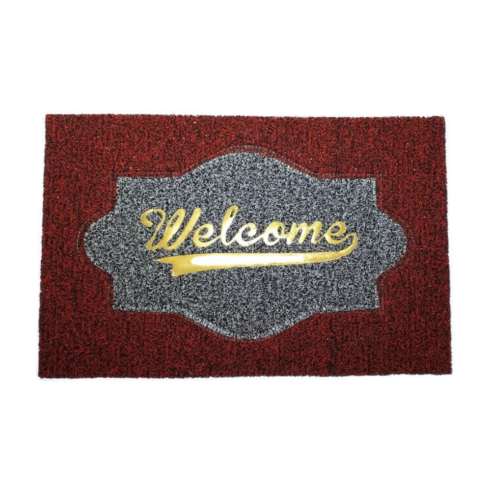 Soft PVC Anti Skid Welcome Door Mat 1a